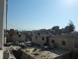Sabra and Chatila - rooftop view